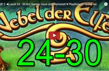 ► NdE 2 ◄ Level 24 – 30 Arti Sanats Haus und Werkstatt ♥ Playthrough Nebel der Elfen 2 [HD]