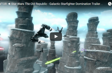 ► SWTOR ◄  Star Wars The Old Republic – Galactic Starfighter Domination Trailer [HD]