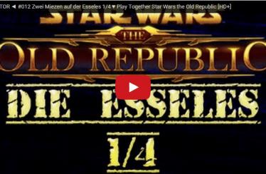 ► SWTOR ◄ #012 Zwei Miezen auf der Esseles 1/4 ♥ Play Together Star Wars the Old Republic [HD+]