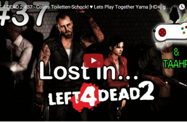 LEFT 4 DEAD 2 #37 – Colins Toiletten-Schock! ♥ Lets Play Together Yama [HD+] german