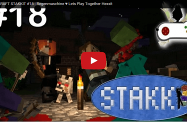 MINECRAFT STAKKIT #18 – Regenmaschine ♥ Lets Play Together Hexxit