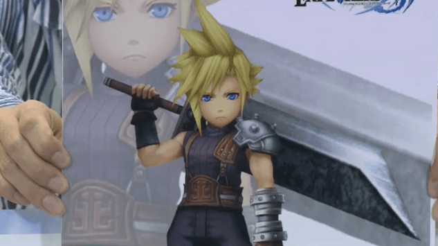 Final Fantasy Explorers Transform zu Cloud in groß