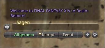 Final Fantasy 14 Chat
