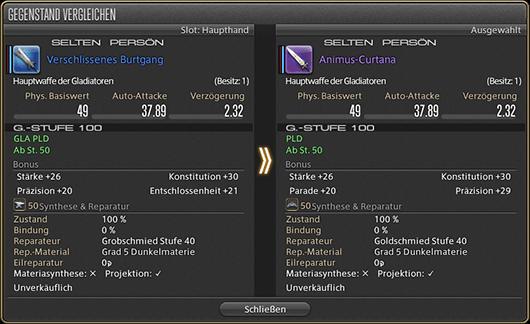 Final Fantasy 14 Vergleich