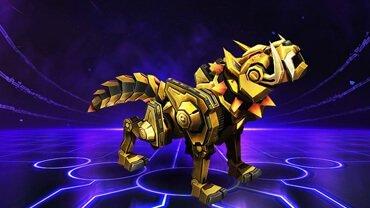 Der goldene Wolf in Heroes of the Storm als Reittier