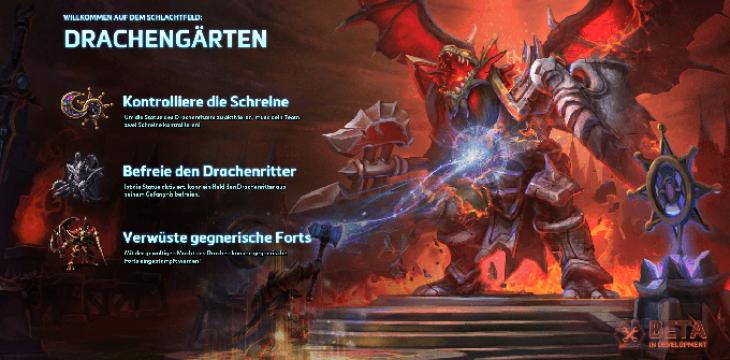 Heroes of the Storm: Schlachtfeld Die Drachengärten (Dragon Shire)