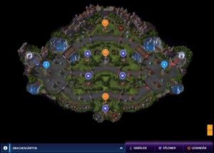 Die Karte der Drachengärten