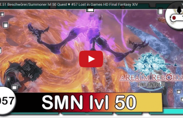 FF14 2.51 Beschwörer/Summoner lvl 50 Quest  ♥ #57 Lost in Games HD Final Fantasy XIV