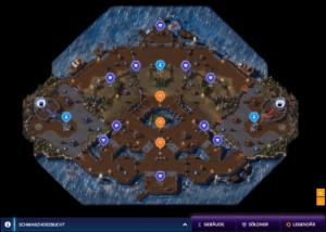 Die Karte der Bucht