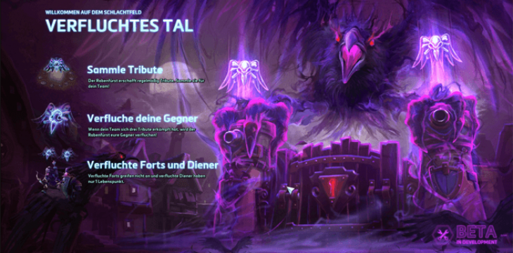 Heroes of the Storm: Verfluchtes Tal (Cursed Hollow)