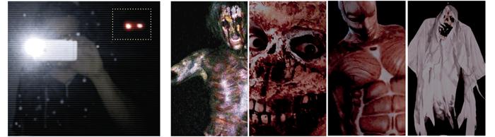 Die Geister wurden modelliert, nur teilweise per Computergrafik hinzugefügt