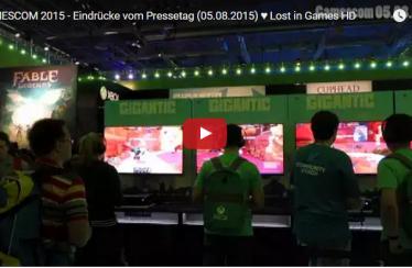 GAMESCOM 2015 – Eindrücke vom Pressetag (05.08.2015)