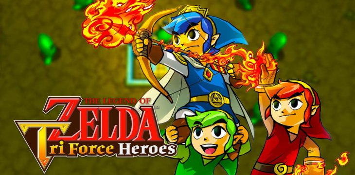 The Legend of Zelda Tri Force Heroes bekommt Platz in Hyrule Timeline