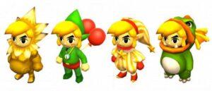 Link als Gorone oder Tingel aus der Zelda Reihe
