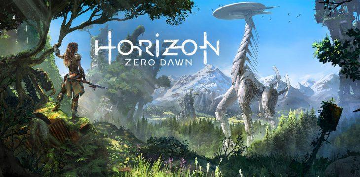 HORIZON: ZERO DAWN mit Mounts und starken Kämpfen.