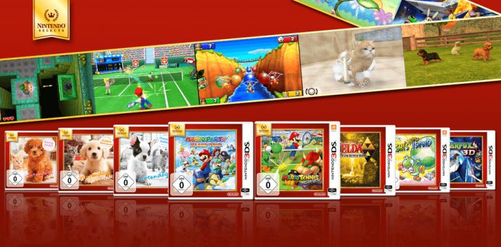 Nintendo Selects für 3DS sind jetzt erhältlich