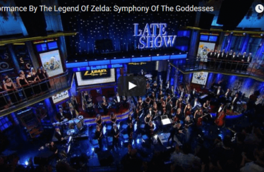 Schaut euch die Legend of Zelda Symphony of the Goddesses im Late Night Video an