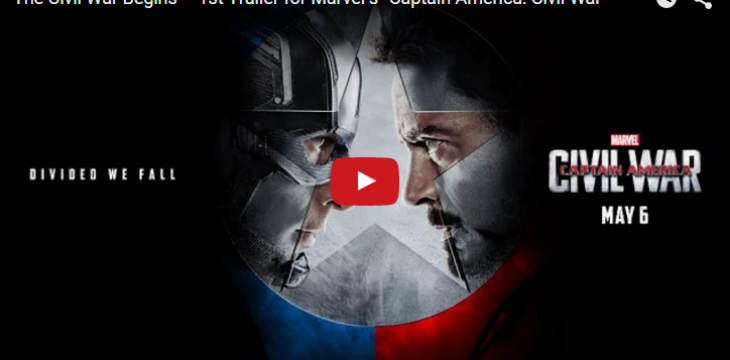 Der erste Trailer zu Captain America: Civil War ist da!