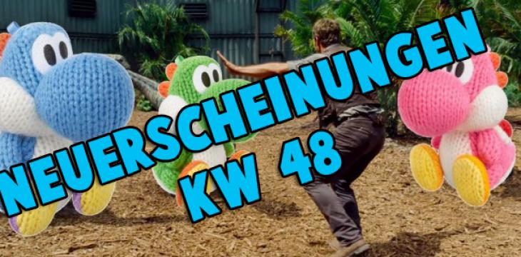 Spiele-Neuerscheinungen der kommenden Woche (KW 48)