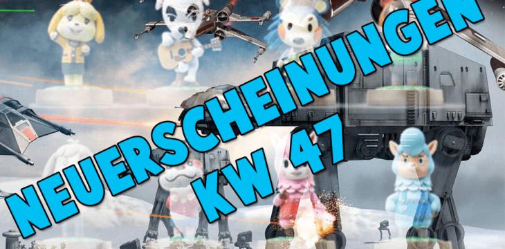 Spiele-Neuerscheinungen der kommenden Woche (KW 47)
