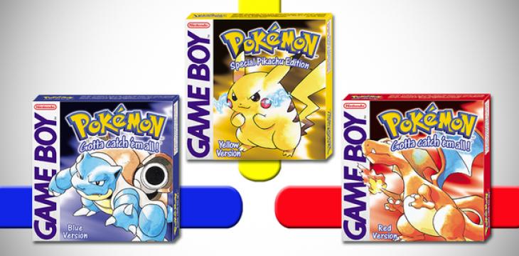 Pokémon Rot, Blau und Gelb werden die Pokémon Bank unterstützen!