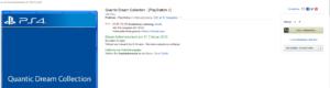 Ein Beweisfoto: Das Datum für die Collection auf Amazon