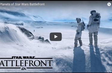 Star Wars Battlefront: Teaser zu den Planeten im Spiel