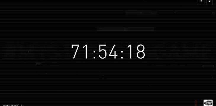 Bandai Namco hat Teaser Seite zu neuem Spiel mit Countdown online geschaltet