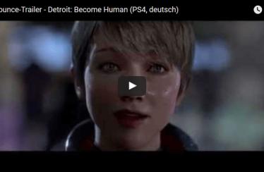 Detroit – Become Human deutscher Ankündigungstrailer vorgestellt