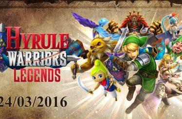 Vorstellung der Charaktere aus Hyrule Warriors Legends