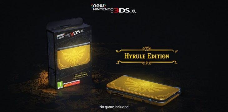 New 3DS XL kommt als Hyrule Edition passend zu Hyrule Warriors Legends Launch