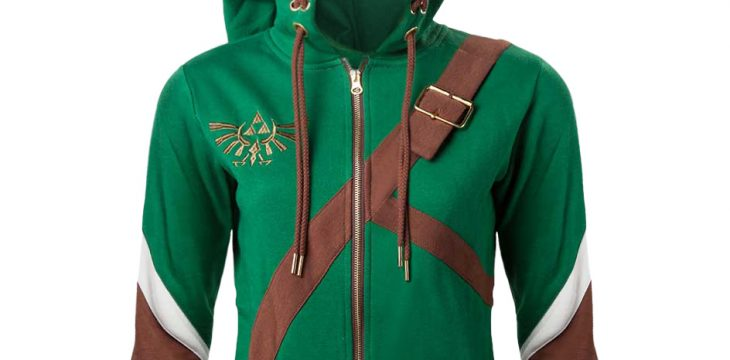 UK Merchandise Shop vertreibt Zelda Hoodies im Link Style