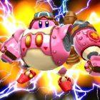 Die Rosa Kugel schlüpft in Kirby: Planet Robobot in einen Mech-Anzug!