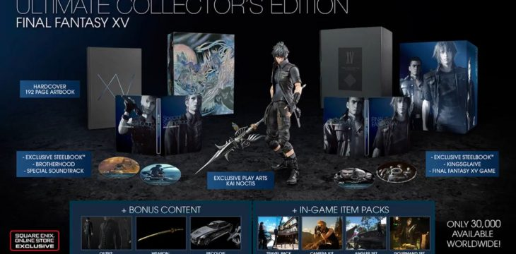 Square Enix gibt ab 23. Mai 10K weitere Collectors Edition zu Final Fantasy XV frei