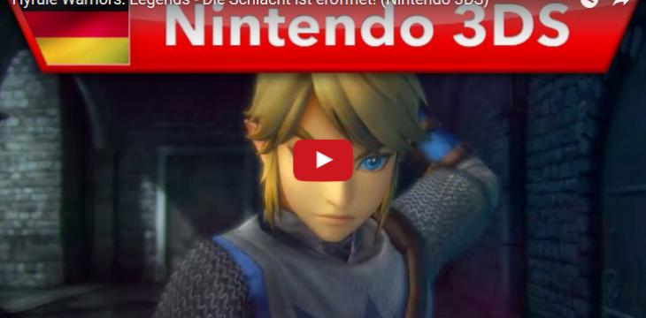 Video zu Hryule Warriors Legends zeigt Schlachten im 3DS Ableger