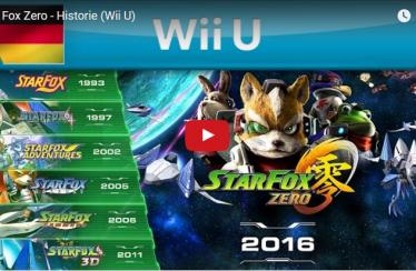 Die Star Fox Historie im Video – mit Bildmaterial zu Star Fox Zero