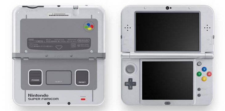 New 3DS XL Super Famicom Edition geht auch bei der Verpackung auf Retro