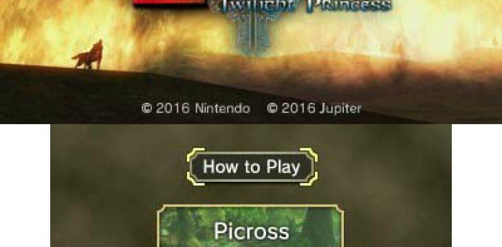 Laut Gerücht kommt ein Twilight Princess Picross Spiel