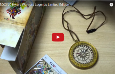 UNBOXING Hyrule Warriors Legends Limited Edition