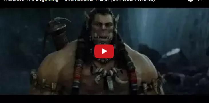 Neuer internationaler Trailer zum Warcraft Film