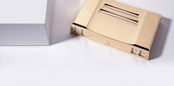 Goldenes NES im wert von 5000$ für Sammler und Zelda Fans entwickelt
