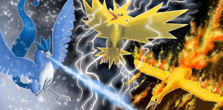 Es gibt noch mehr legendäre Pokémon für eure Sammlung – diesmal mit drei Vögeln!