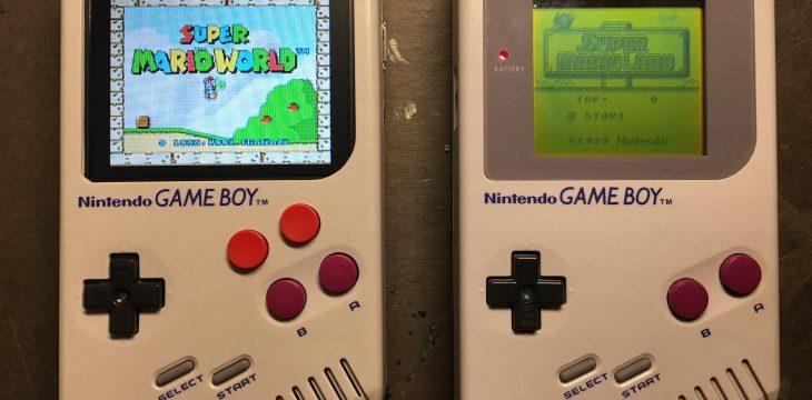Ein Game Boy mit Raspberry Pi zum gemütlichen Retro-Zocken