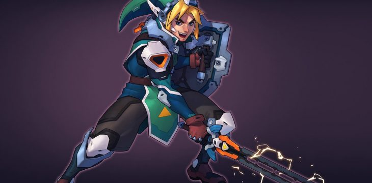 So würde Link aus der Zelda Reihe wohl als Overwatch Held aussehen