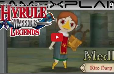 Medolie hat ihren ersten Hyrule Warriors Legends Trailer bekommen