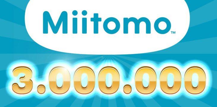Miitomo knackt weltweit die 3 Millionen Marke