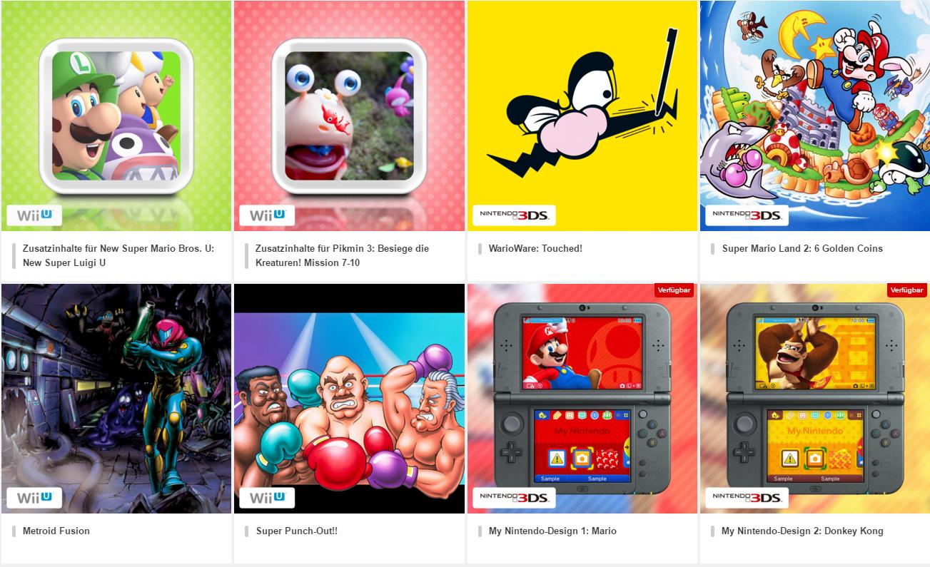 My Nintendo Belohnungen Und Münzen Preise Lost In Games