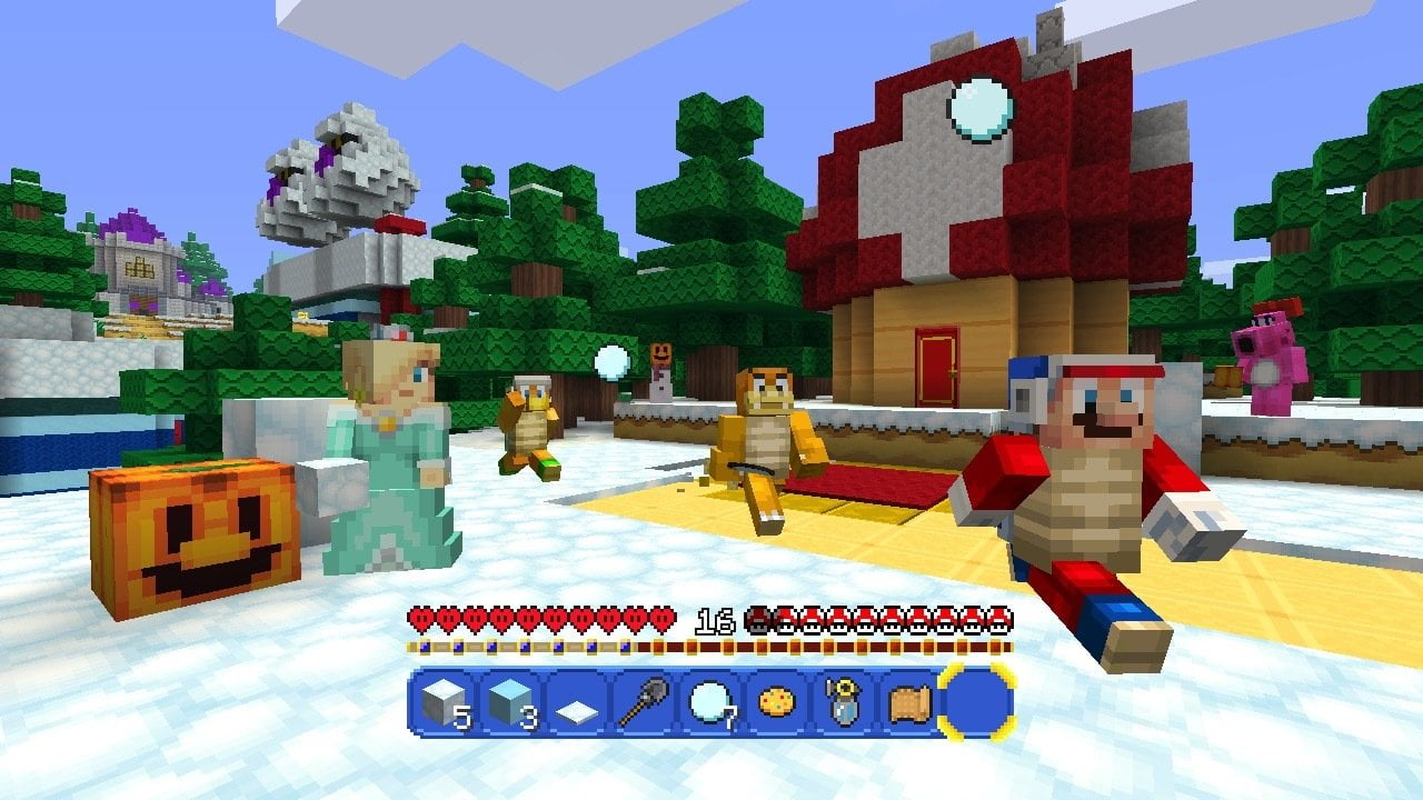 Die Minecraft Wii U Edition bekommt ein Super Mario Paket ...