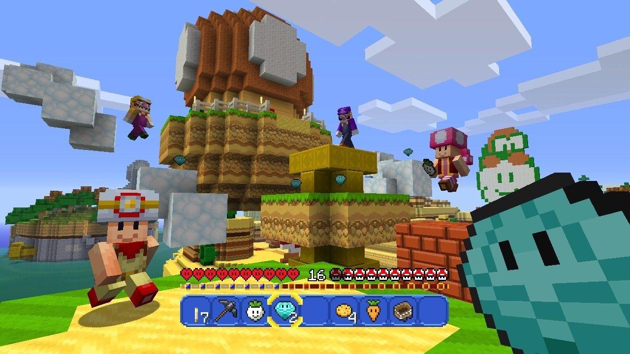 Die Minecraft Wii U Edition Bekommt Ein Super Mario Paket Lost In - Minecraft wii spielen