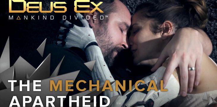 DEUS EX: MANKIND DIVIDED – spektakulärer The Mechanical Apartheid-Trailer veröffentlicht